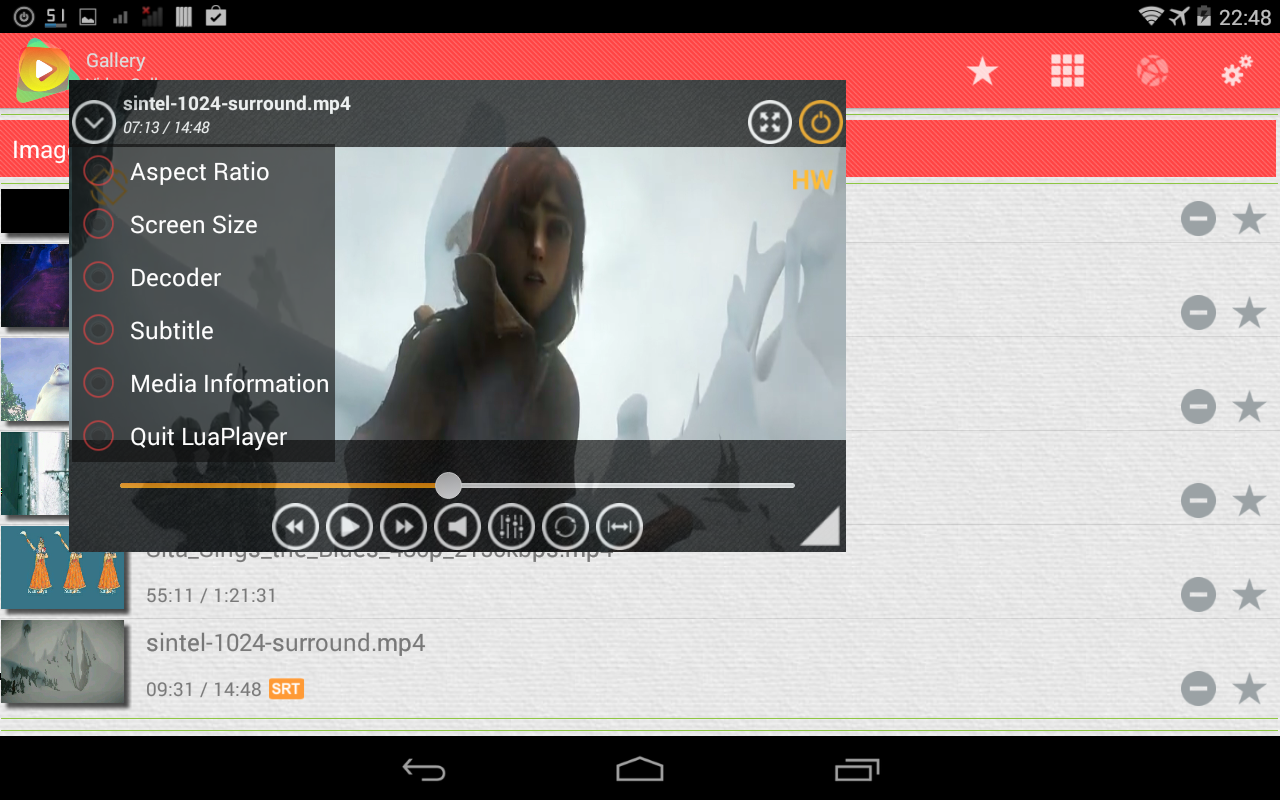 Android MOV Player